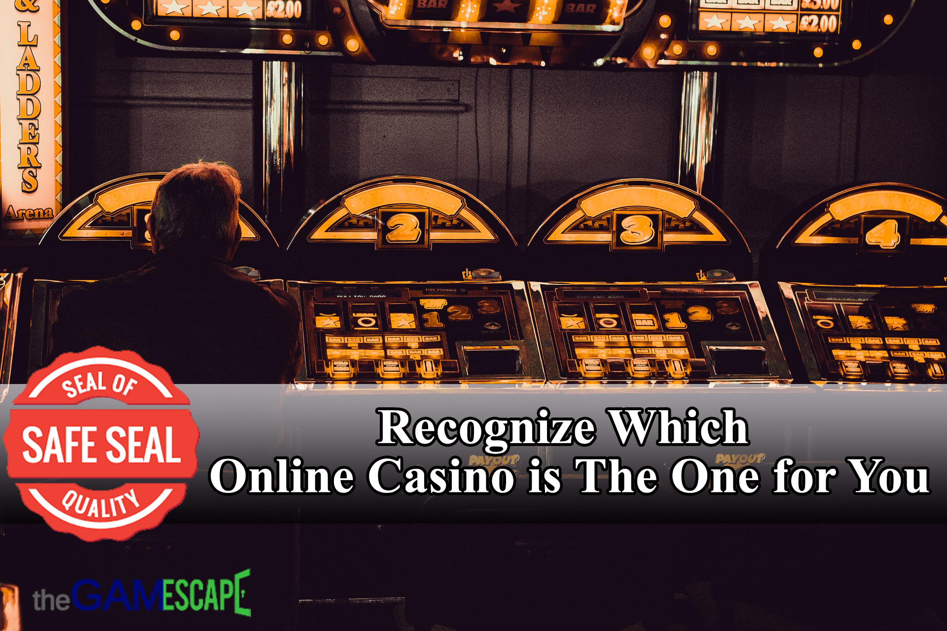 Recognize Which Online Casino is The One for You